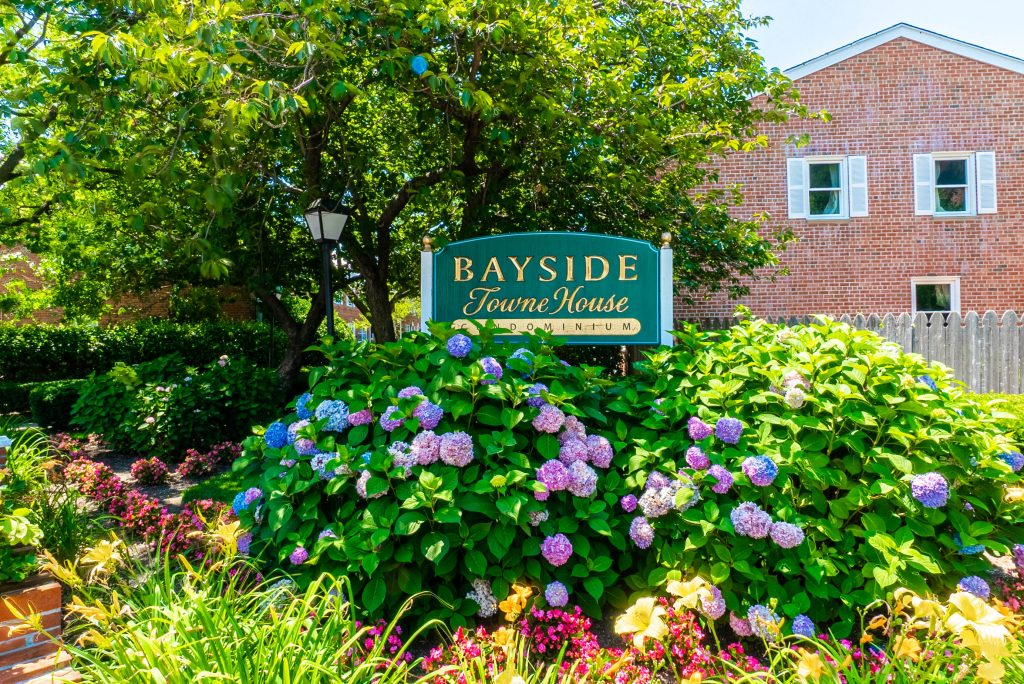 Bayside towne house condo front
